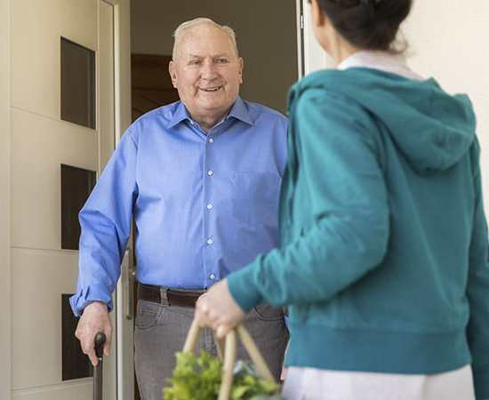 Delivery services for seniors